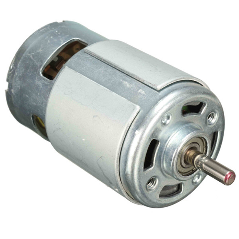 <font><b>DC</b></font> <font><b>Motor</b></font> <font><b>DC</b></font> 6-<font><b>30V</b></font> <font><b>Motor</b></font> 775 Gear <font><b>Motor</b></font> Large Torque 8300RPM High Power <font><b>Motor</b></font> With Vent Holes image