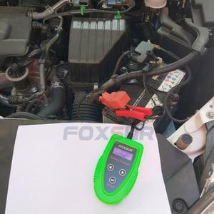 Image 4 - FOXSUR 12 V digitale Batterij Analyzer auto batterij tester Professionele Diagnostic Tool voor loodaccu CCA IR SOH meting