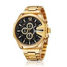 Mens Quartz Analog Watch Cagarny Luxury Fashion Sport Wristw