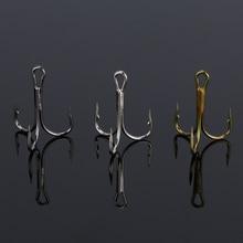 Goture Treble Fishing Hook Set Size # 2/4/6/8/10 High Carbon Steel Silver Black Brown for Carp Fishing Hooks Japan 50pcs/box