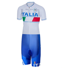 2020 ITALIA Skinsuit Cycling Clothing one piece Bodysuit Ropa Ciclismo MTB Bike Clothing Men outdoor wear # SK201900021709