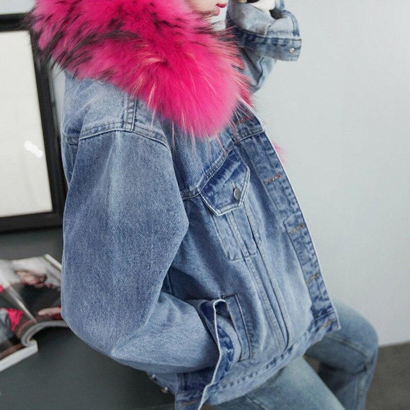 Autumn 2018 Parkas   basic     jackets   Female Women Winter plus velvet lamb hooded Coats thickening loose   Jacket   Womens Outwear coat
