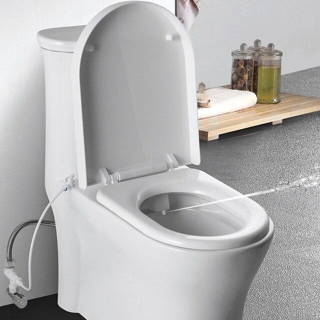 MAXSWAN Toilet Seat Bidet Hygienic Bidet head easy to Install High ...