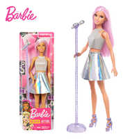 Original Brand Barbie Dolls Princess Assortment Fashionista Girl Rock Fashion Style Doll Kids Birthday Gift Toys for Girls