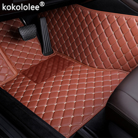 Car Floor Mats For Mitsubishi Pajero Outlander ASX Lancer SPORT EX Zinger FORTIS Grandis Galant car styling Custom floor mats