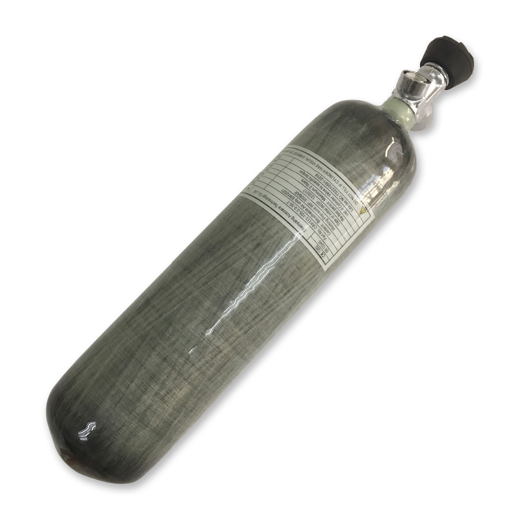 AC10331 4500psi 3L CE airsoft rifle compressed gas cylinder carbon fiber scuba tank gauged valve airsoft paintball Acecare