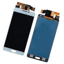 MagiDeal جديد LCD شاشة تعمل باللمس شاشة عرض لسامسونج غالاكسي A5 2015 A500 الهاتف المحمول الكابلات المرنة