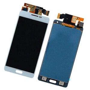 Image 1 - MagiDeal جديد LCD شاشة تعمل باللمس شاشة عرض لسامسونج غالاكسي A5 2015 A500 الهاتف المحمول الكابلات المرنة