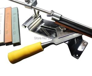 Image 2 - Full Metal Universal Apex edge sharpener system knife sharpening 4 whetstone grindstone afiador de faca