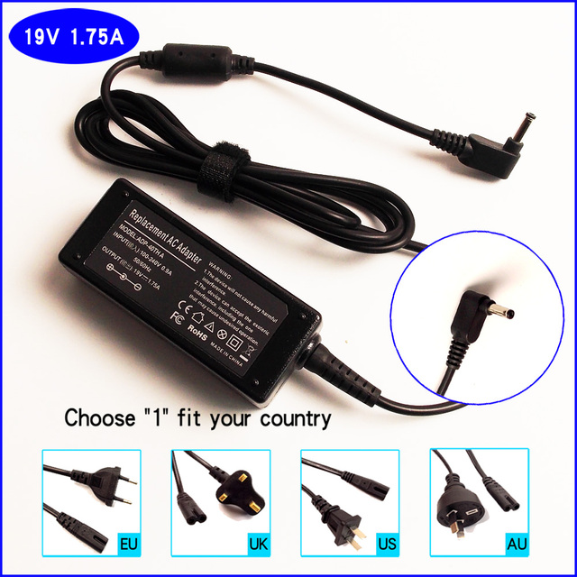 Ajeyo 19v 1 75a Laptop Ac Adapter Charger Power Supply For Asus