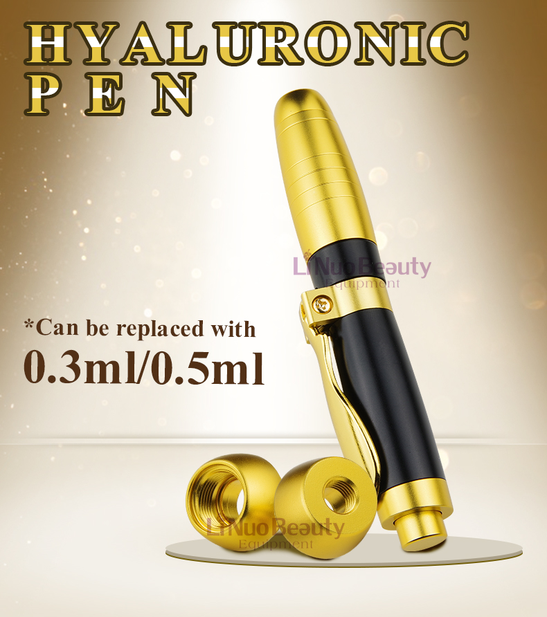 2019 NEWEST 2 in 1 two head 0 3ml 0 5ml hyaluron Pen Hyaluronic Acid lip