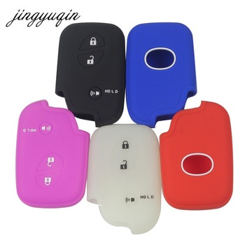 jingyuqin Silicone Protection Case for Lexus CT200h ES 300h IS250 GX400 RX270 RX450h RX350 LX570 Key Cover Luminious Optional image