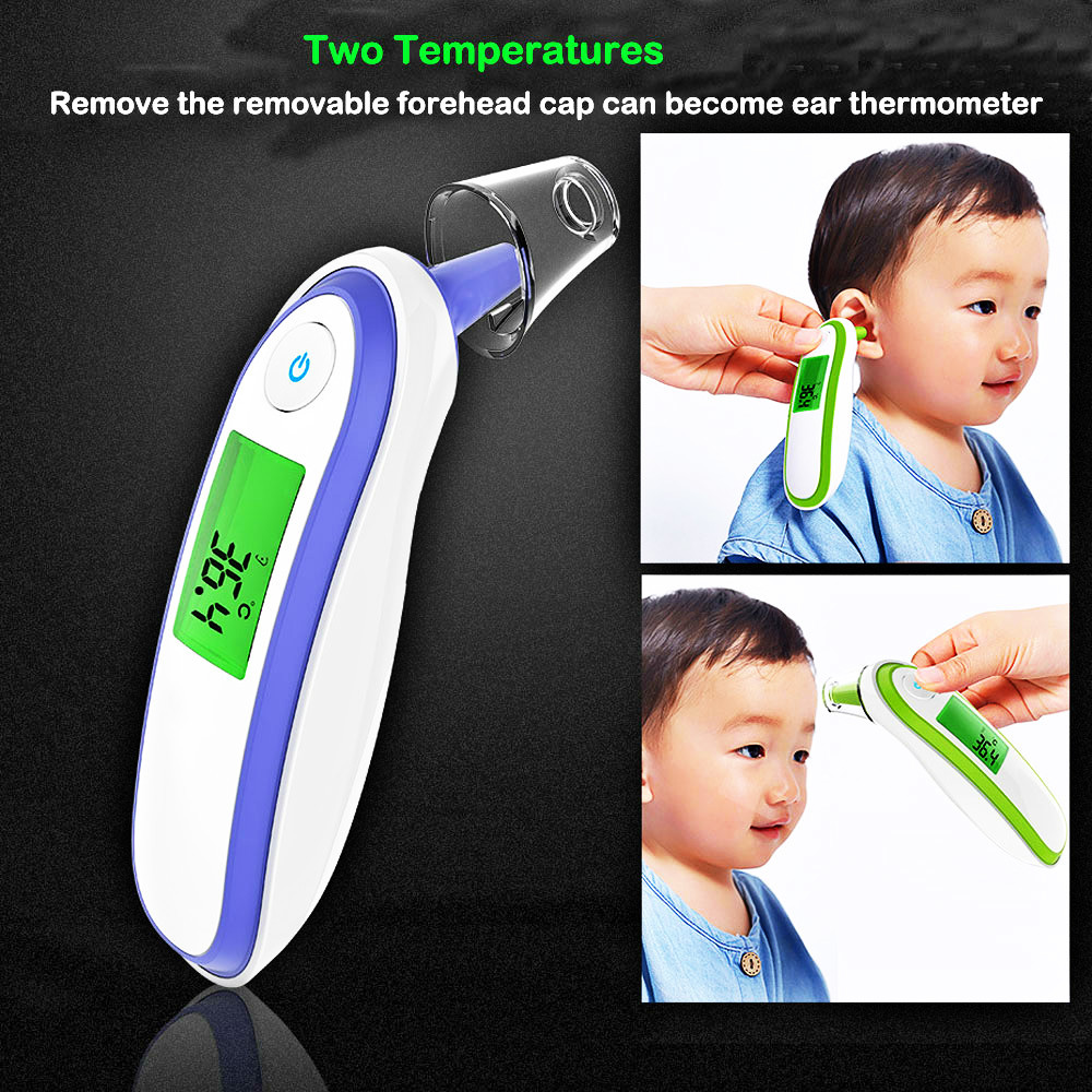 Image 4 - Medical Fingertip Pulse Oximeter Ear forhead Infrared Thermometer Digital portable Family Health Care Spo2 PR oximetro de pulso-in Blood Pressure from Beauty & Health