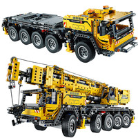 Дизайн серии подвижный подъёмный кран MK II строительные блоки электродвигателей Мощность функции модель совместима с Legoings Technic 8190