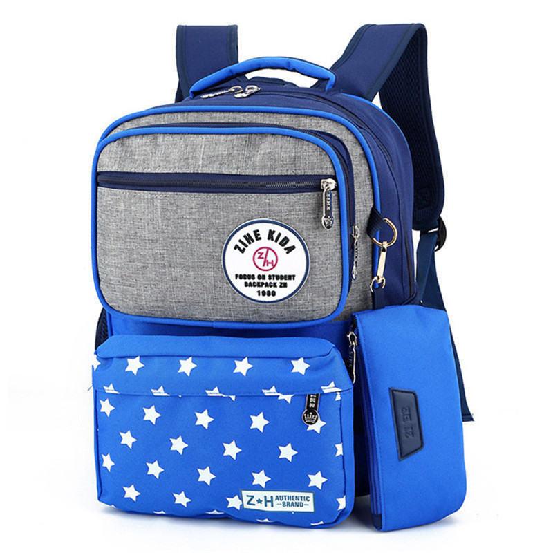 Kids School Bags Children Backpacks Girls/Boys Backpack Schoolbag Multifunction Bookbag Mochila Escolar Rucksacks Grades 1-3
