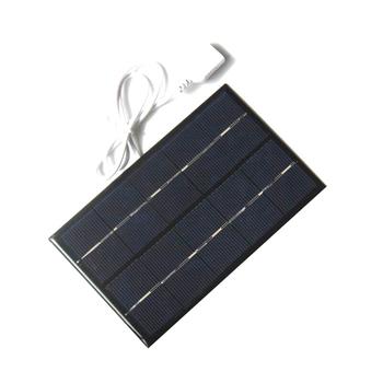 Panel solarny USB zewnętrzna 5W 5V przenośna ładowarka solarna szybka ładowarka polisilicon Tablet Solar Travel tanie i dobre opinie Ogniwa słoneczne ljb0013tyn90318 Amorficznego krzemu 88*142MM Zerosky
