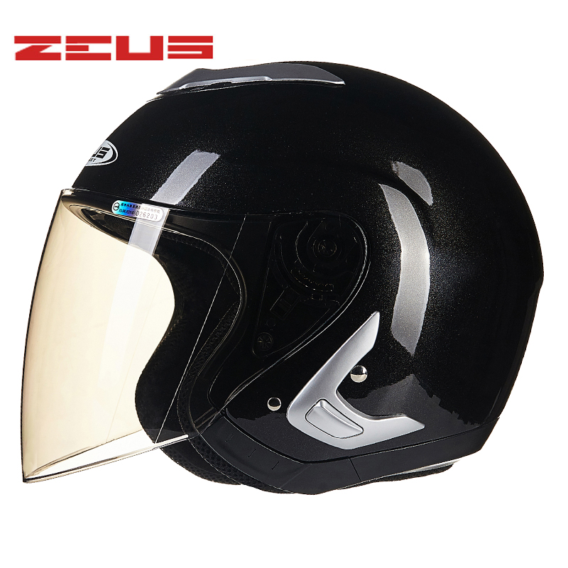 цена Motorcycle Helmet Open Face Half Face Motorbike Electric Bicycle Helmets Four Seasons Breathable Motocross Capacete Motoqueiro