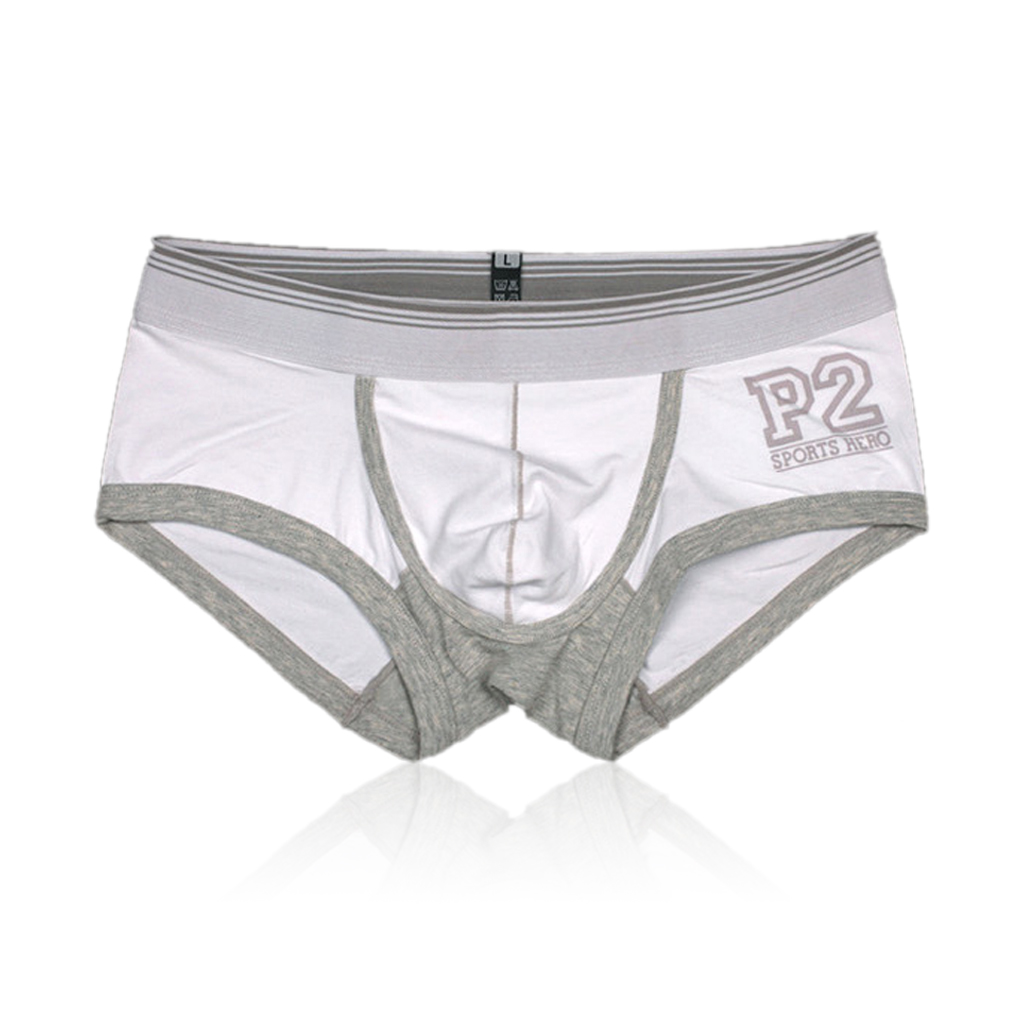 9a66002e45 Roupa Interior dos homens Sexy boxers algodão Bolsa Convexo Boy Shorts  Bottoms