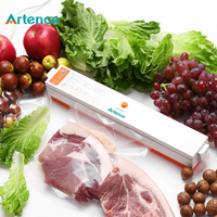 Electric Vacuum Food Sealing Machine 220V Household Automatic Food Vacuum Sealer Packaging Machine