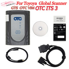 Novo otc tis3 techstream vim v14.30.023 + programação flash para toyota scanner diagnóstico otc ferramenta de diagnóstico do carro em linha dhl navio
