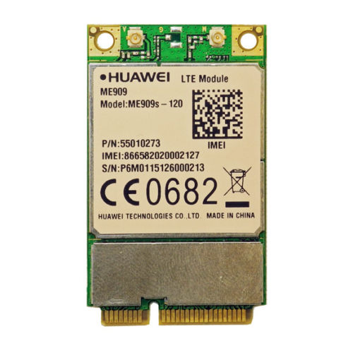 New Huawei ME909s-120 LTE FDD/DC-HSPA+/UMTS/EDGE Mini-PCIe 3G/4G Wireless Module telit ln930 dw5810e m 2 twh3n ngff 4g lte dc hspa wwan wireless network card for venue 11