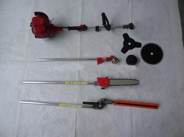Multipurpose Whipper Snipper 6 in 1 Brush cutter 4 stroke GX35 Engine Petrol strimmer Tree Pruner