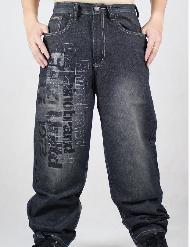New 2017 fashion men jeans Hip hop jeans men loose hypertrophy jeans big size leisure trousers