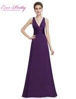 09008 Elegant Sexy V Neck Pink Long Evening Dresses 2014 Kim Kardashian Dress Party Evening Elegant