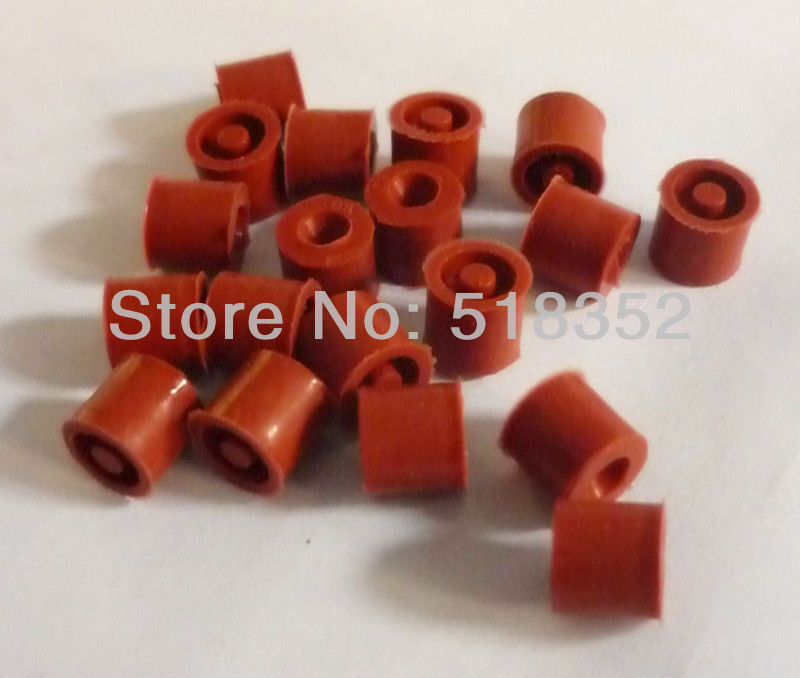 Rubber Seal for EDM Small Hole Drilling Machines, Red image