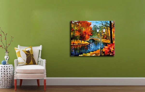 Painting For Bedroom aliexpress : buy nice autumn landscape handpainted oil