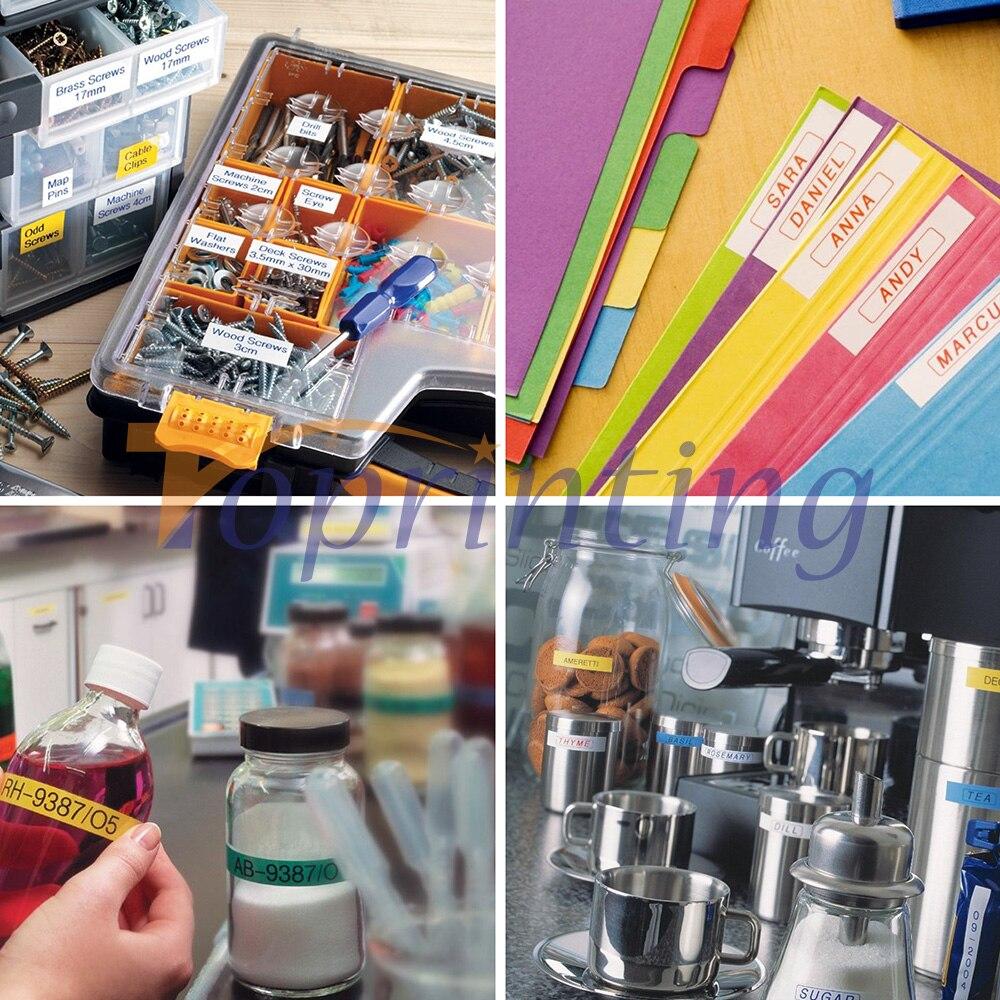 Fitas para Impressora labelife 8 pacote combo set Feature : Compatible