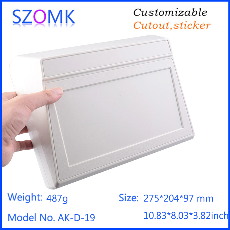 plastic instrument box new enclosure (10 pcs) 275*204*97mm electrical cabinet abs plastic enclosure electronic equipment 4pcs a lot diy plastic enclosure for electronic handheld led junction box abs housing control box waterproof case 238 134 50mm