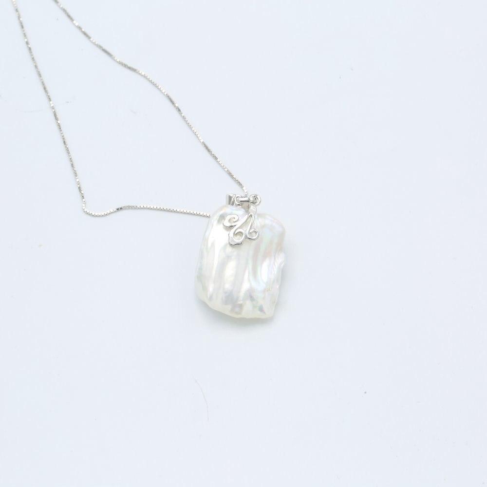 fe7cd8121c3c JYX de suéter collares larga ronda blanco Natural 8-9mm collar de perlas  naturales de