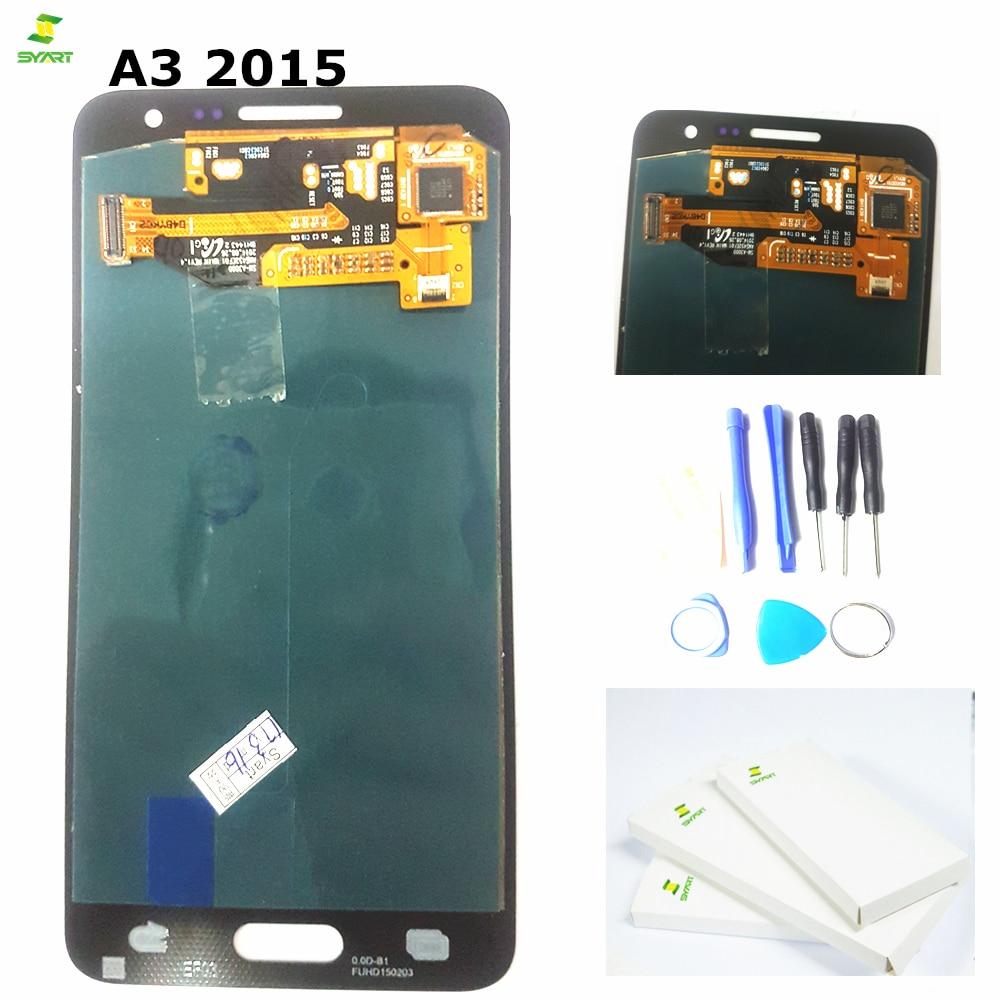 A3 A300 pour Samsung Galaxy A3 A300 A300F SM-A300F écran LCD écran tactile numériseur assemblée pour Samsung A3 2015 écran d'affichage