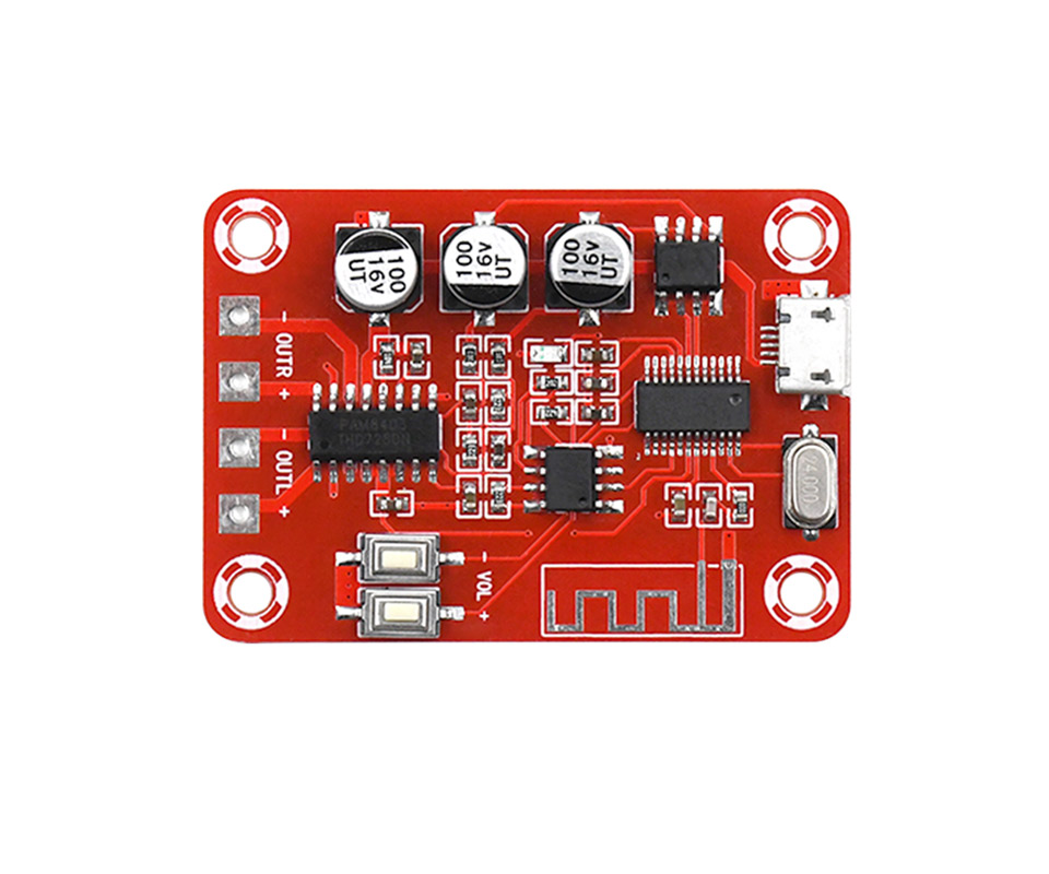 Image 5 - Bluetooth Amplifier Audio Board 5W*2 Stereo Bluetooth Decoder 4.2 Lossless Receiver Home Theater-in Amplifier from Consumer Electronics