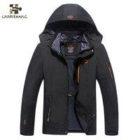 Men Warm Coat Winter Jacket Plus Size L 8XL Men Hooded Fleece Thermal Anorak Waterproof Windproof Jacket Male