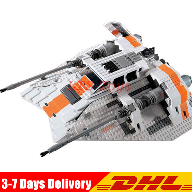 IN Stock Lepin 05084 1457Pcs Star Series Wars The Snowspeeder Set Building Blocks Bricks Toys Model Compatible legoed 10129 new lepin 16009 1151pcs queen anne s revenge pirates of the caribbean building blocks set compatible legoed with 4195 children