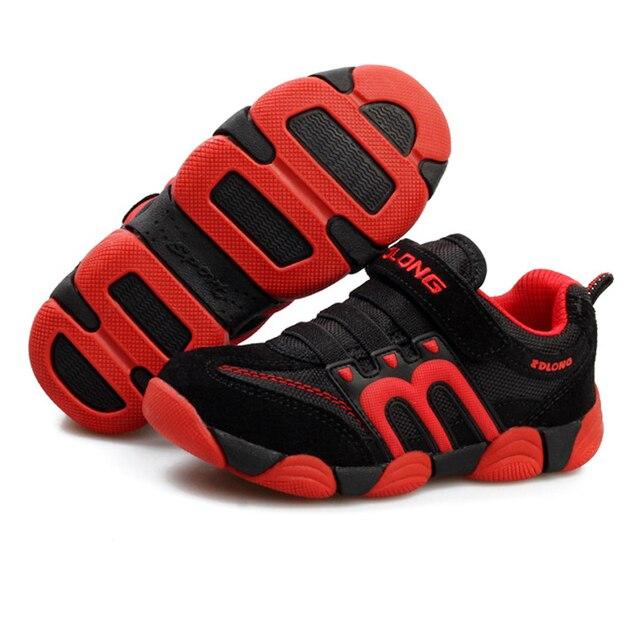 Кроссовки мальчики Дети спортивная обувь мальчики подушке обувь скольжения удобные детские кроссовки