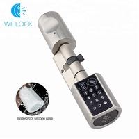 L6PCB Smart Locks Home Security Digital Keypad Hardware Lock Keyless EURO Lock Core Cylinder Bluetooth Electronic Door lock