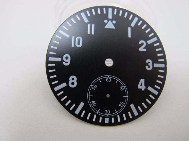 watch face accessories parnis 38 9mm watch dial fit 6497 6498