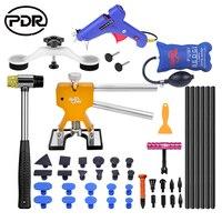 PDR Gereedschappen Verveloos Uitdeuken Auto Reparatie Tool Kit Verwijderen Deuken Auto Gereedschap Puller Dent Lifter Trekken Brug Zuignappen