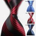 20 Estilo de La Moda de Nueva Mens Lazos Cruzados Hombre Tejida Clásica de la Visita de la Boda Corbata de Los Hombres Corbatas Corbata de Lujo de Regalo de Vacaciones