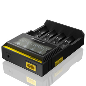 Image 3 - Nitecore D4 D2 חדש I4 חדש I2 Digicharger LCD אינטליגנטית ליתיום AA AAA 18650 14500 16340 26650 מהיר סוללה תשלום/רכב תשלום D5