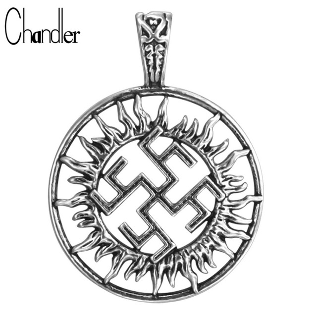Wholesale Slavic Pagan Symbol Pendant For Necklace Norse Nautical