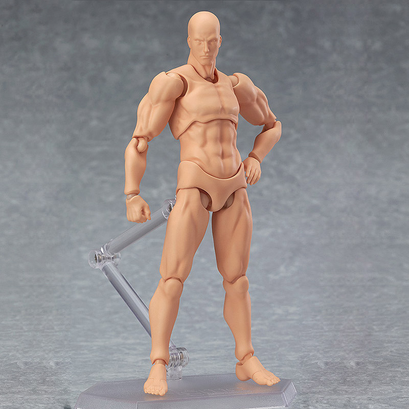Toys & Hobbies ... Action & Toy Figures ... 32795625365 ... 4 ... 13cm Action Figure Toys Artist Movable Male Female Joint figure PVC body figures Model Mannequin bjd Art Sketch Draw figurine ...