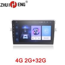 ZHUIHENG 2 din Car radio for Toyota Verso EZ 2010-2015 car dvd player GPS navigation accessories with 2G+32G 4G internet