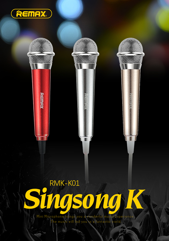 Electrical Device - Remax Mini portable Sing Song Karaoke Microphones speaker