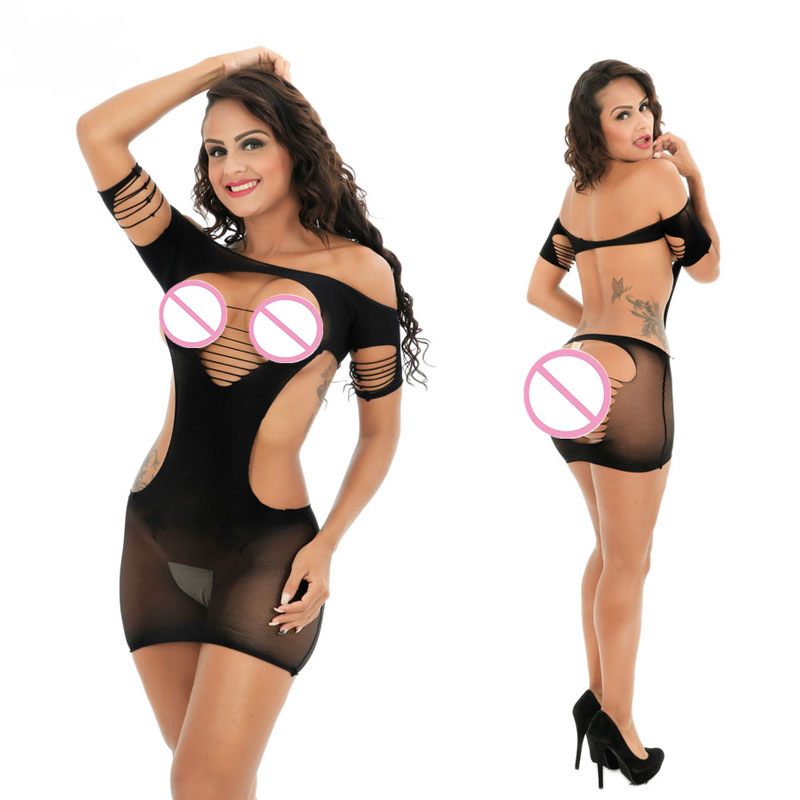 Buy Female Women Exotic Apparel Porn Lingerie Sexy Hot Erotic Mini Dress Babydoll Chemise Sexy Costumes Underwear Sleepwear