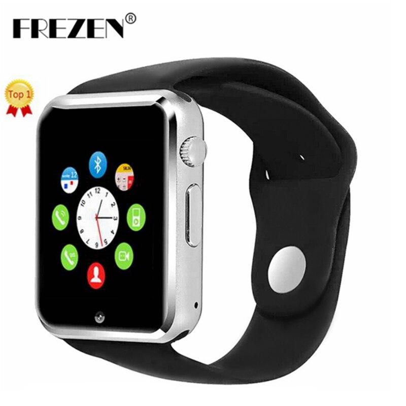 FREZEN Bluetooth Smart Watch G10D WristWatch MTK6261D Sport Pedometer Sim Card Smartwatch For Android Smartphone PK