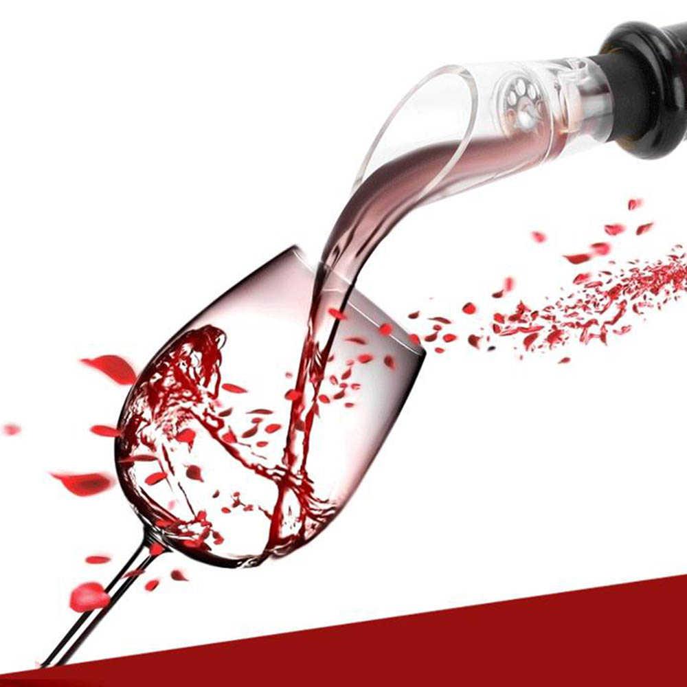 جديد Xiaomi Mijia البسيطة الأحمر مسكب نبيذ نازع للهواء مدفق نبيذ الدورق النبيذ سدادة قسط إشباع المدفق الدورق صنبور